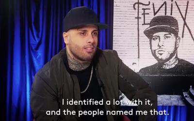 """Nicky Jam sobre 'Fénix: """"ese es el nombre que me puso el pueblo"""""""