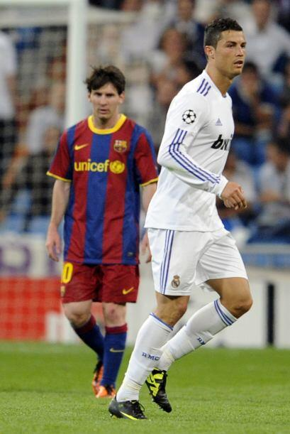 La 'Pulga' le ganaba claramente la batalla a Cristiano Ronaldo.