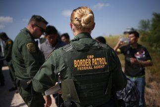 Agentes de la Patrulla Fronteriza en Texas
