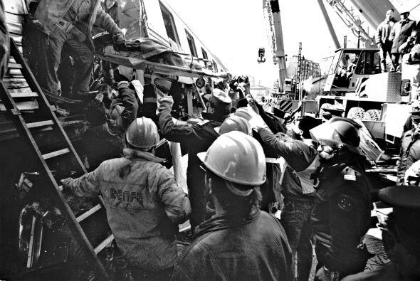 En 1944 sucedió el percance más grave, cuando un tren que...