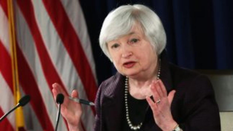 Janet Yellen, presidenta de la Fed.