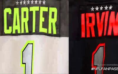 Michael Irvin y Cris Carter rivales en el Pro Bowl