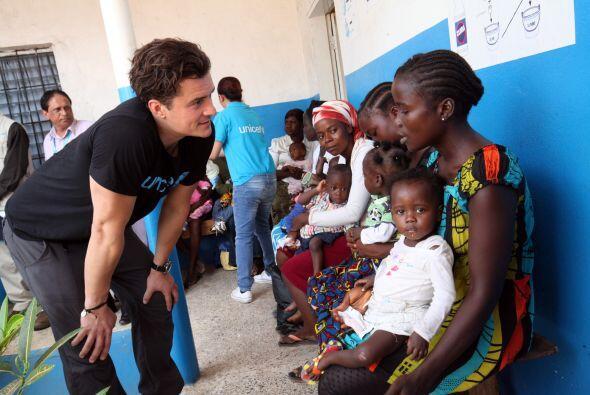 Esta vez Orlando viajó a Liberia y pasó cuatro días...
