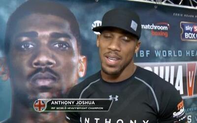 "Anthony Joshua: ""Dominic Gleazeale esta al mismo nivel que yo"""