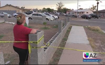 Vecinos conmocionados por tiroteo mortal