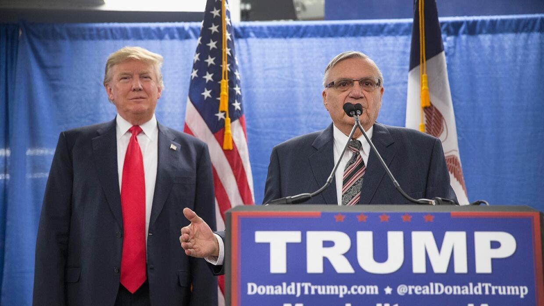 Trump y Arpaio
