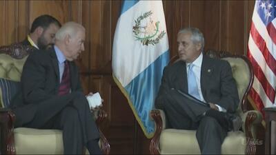 Joe Biden dialoga con gobiernos de Guatemala y Honduras sobre la migraci...