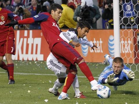 Real Salt Lake no tuvo piedad del Galaxy.