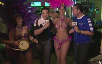 Miguel y Enrique ¡a bailar samba!