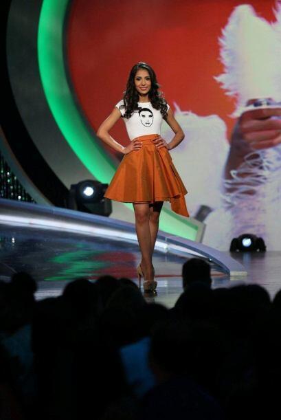 Alejandra Robles quedó eliminada, ella hizo el reto de baile.