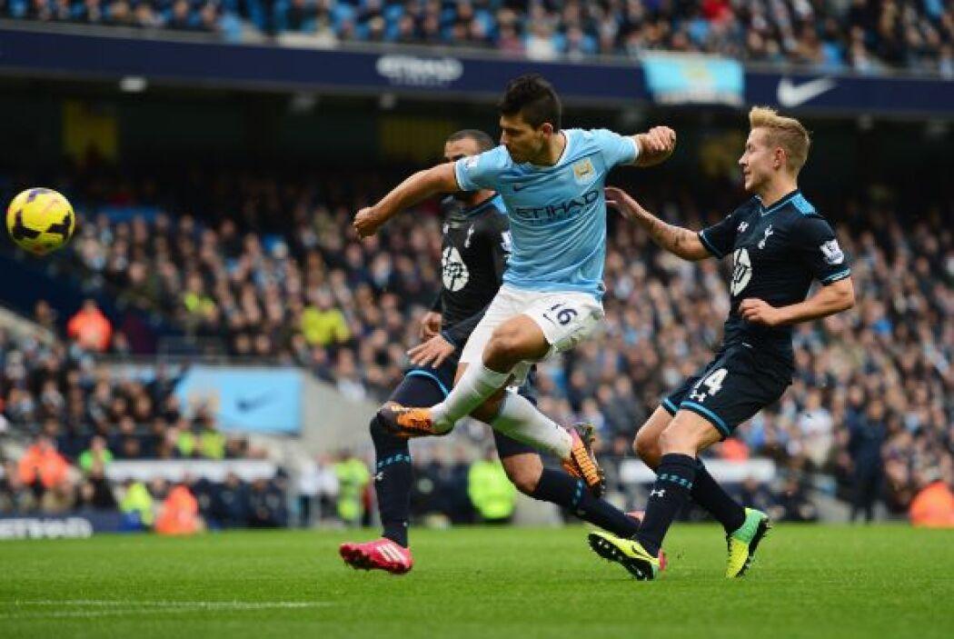 Ya eran cinco goles y el City no paraba de atacar.