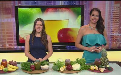 Jugos de frutas y verduras que le pueden ayudar a mejorar su salud y act...