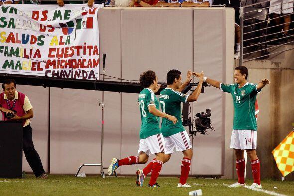 El 'Chicharito' rescató a una Selección Emxicana que dio su peor exhibic...