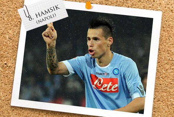Talento puro proveniente de Eslovaquia es el volante Marek Hamsik, que h...
