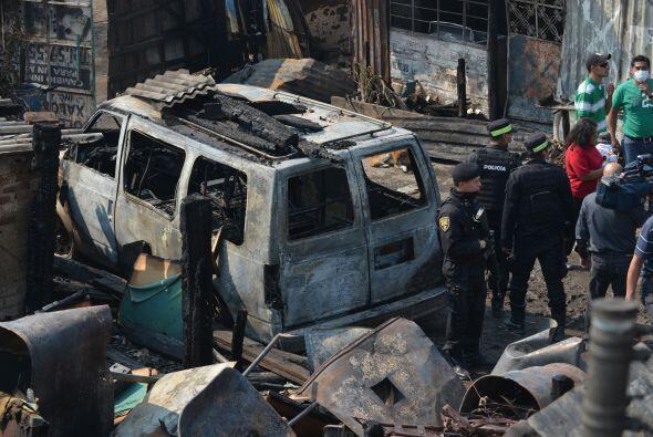 El conductor del vehículo fue detenido, y decenas de personas res...