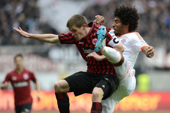 Eintracht estuvo cerca de empatar a través de Srdjan Lakic al 80 pero Ma...