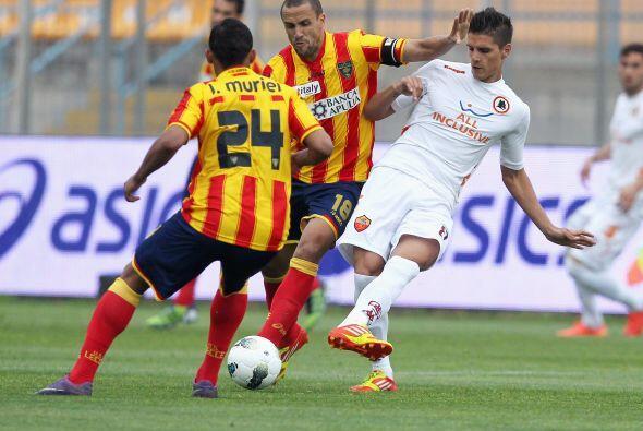 Los goles de la Roma fueron del argentino Eirk Lamela y del español Bojan.