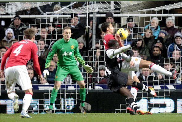Newcastle esperaba una de las pinceladas de su atacante Demba Ba.