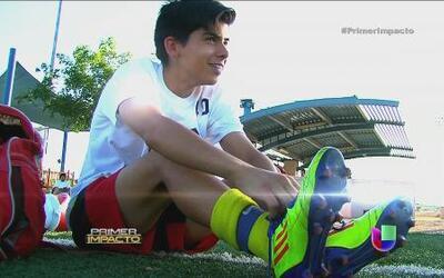 El sueño futbolístico de niños que aspiran a ser profesionales