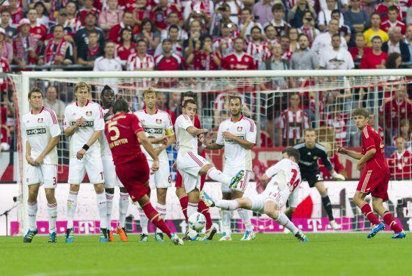 Su Bayern Munich marcha líder de la Bunesliga y en parte eso suce...