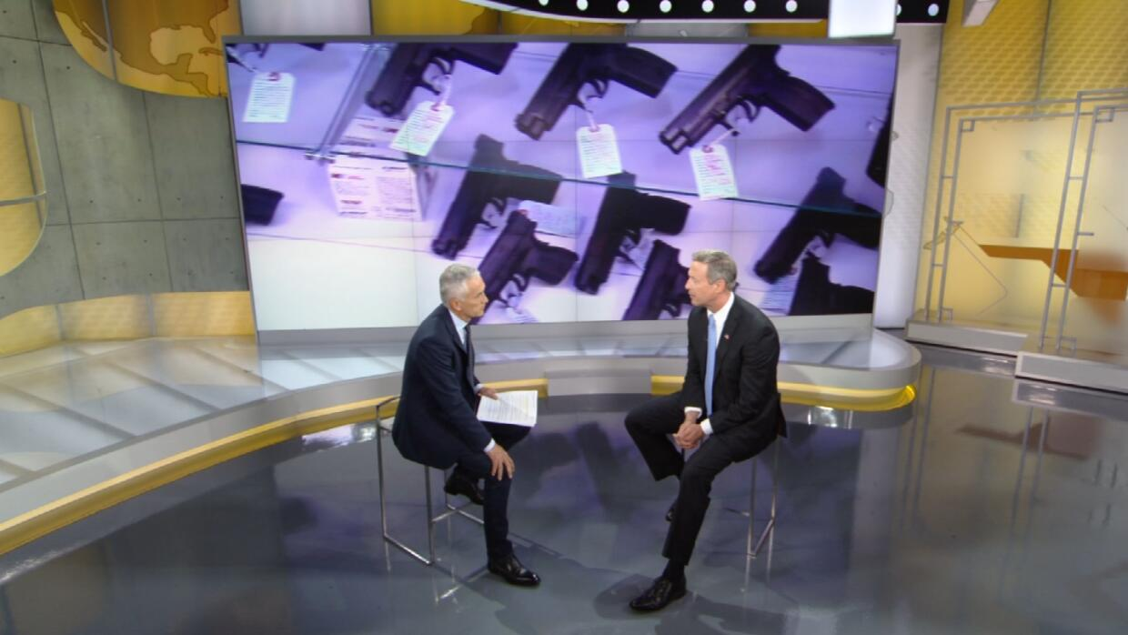 Jorge Ramos interviews Martin O'Malley.
