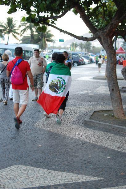 Recorrer las calles de Río en pleno Mundial es toda una experiencia.