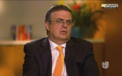"""Marcelo Ebrard: """"No quieren que llegue yo al congreso y que participe po..."""