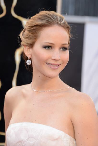 La recién nombrada Mejor Actriz, Jennifer Lawrence, empezó...