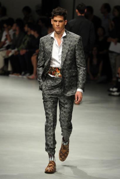 Los trajes estampados y con diseños dejarán marca en el guardarropa y el...