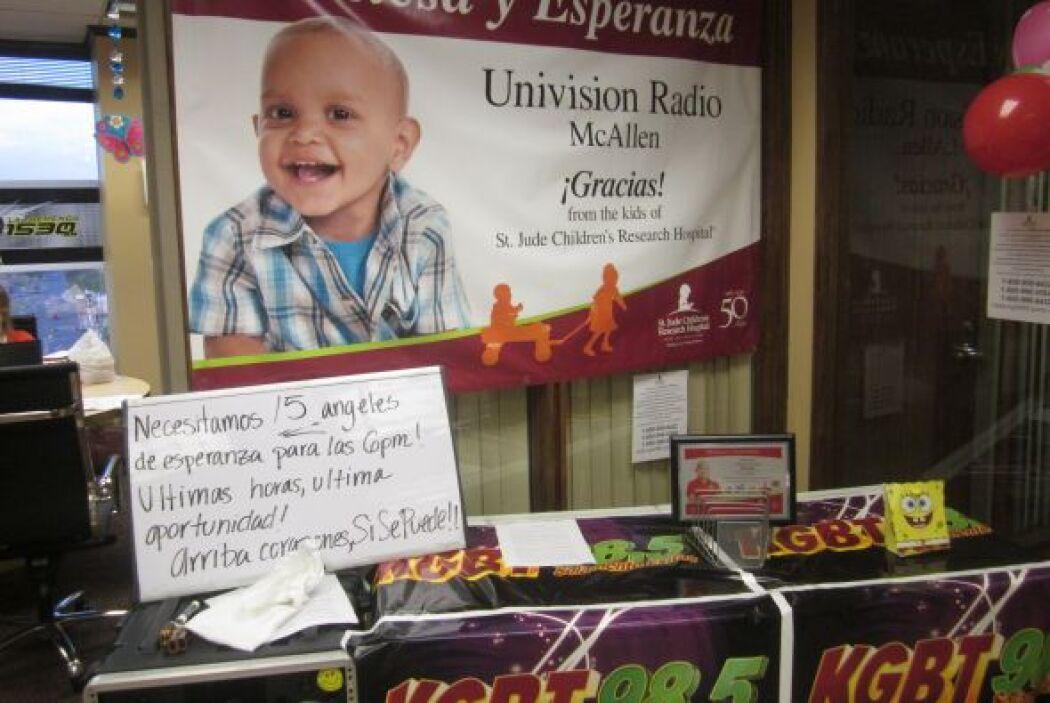 ¡Gracias McAllen por tu generosidad y amor a los niños de St. Jude! Con...