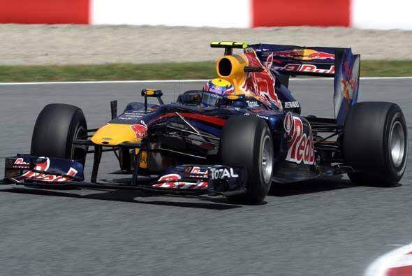 Vettel no pudo mantener el ritmo de su compañero de equipo y terminó ter...
