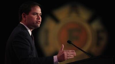 El senador Marco Rubio habló de Venezuela, la reforma migratoria y la CIA