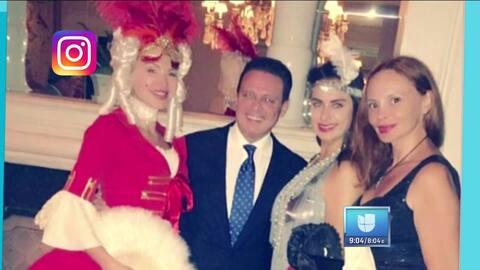 Luis Miguel aparece muy bien acompañado ¿Quiénes son esas chicas?