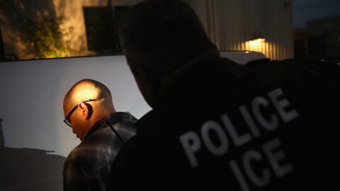 Agente de ICE. (Imagen de Archivo)