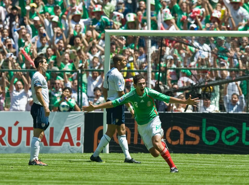 Historia de la maldición de Columbus: México vs Estados Unidos mexico 2-...