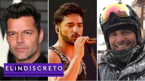 #ElIndiscreto Ricky MArtin; Maluma; Chayanne