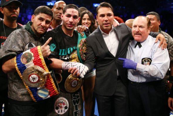 Danny García ganó por decisión unánime y esp...