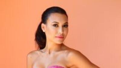 ¡Qué momento tan incómodo! Naya Rivera interpreta en la serie de Glee un...