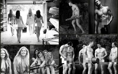 Equipo de remo de universidad de Warwick presenta calendario desnudos 2014