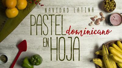 """Pastel en hoja - El Recetario """"Navidad Latina"""" #ComoEnCasa"""
