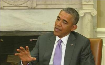 La Casa Blanca hace un llamado a la comunidad internacional a ayudar la...
