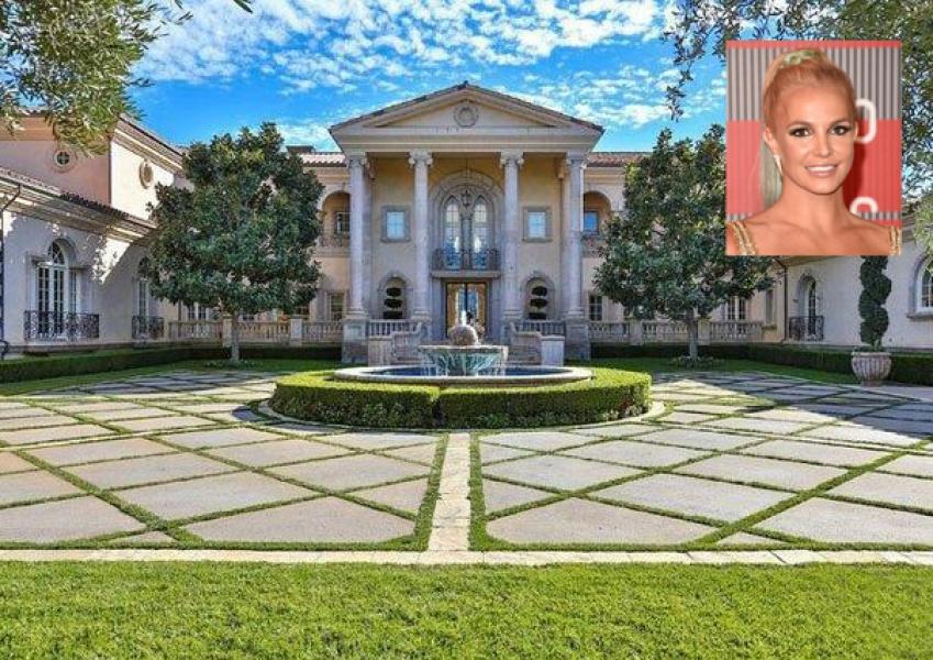 La majestuosa villa donde vivirá Britney
