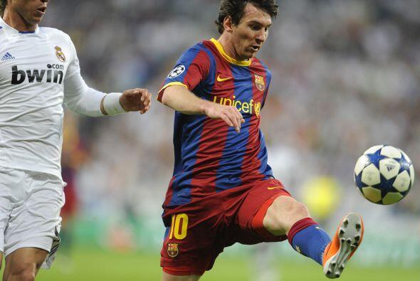 Messi fue el que más movilidad tuvo en el ataque del Barcelona pero siem...