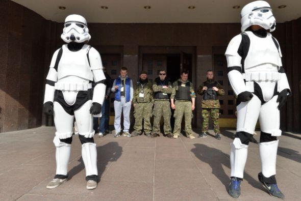 Los soldados ucranianos no sabían cómo reaccionar ante la...