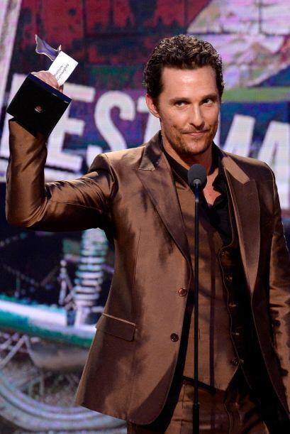 """Matthew McConaughey, Mejor Actor por """"Dallas Buyers Club"""".  Mi..."""