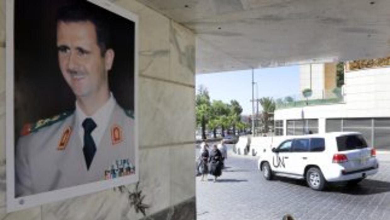 Bashar al-Assad hizo llegar un mensaje al papa Francisco.