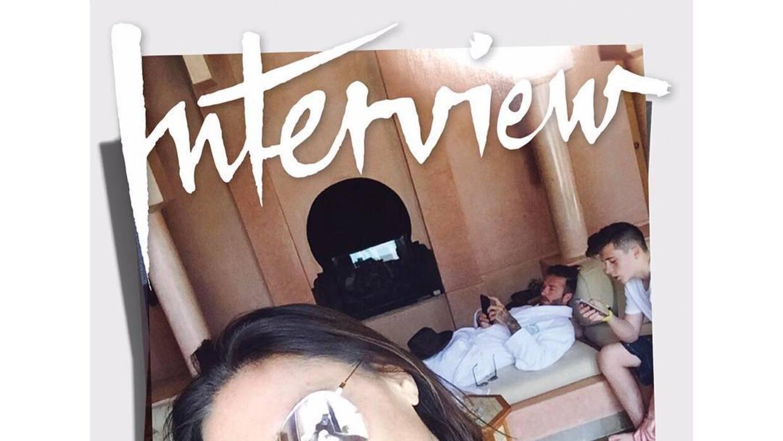 La portada de Victoria Beckham en Interview.