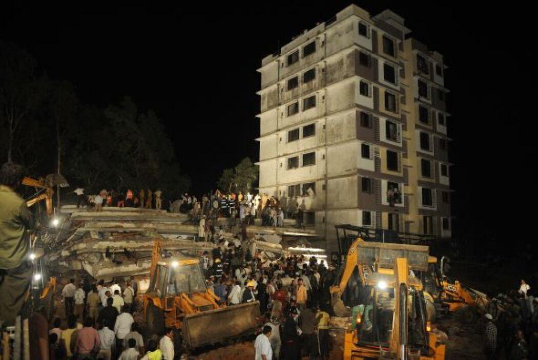 Según el diario Hindustan Times, el edificio de siete plantas fue constr...