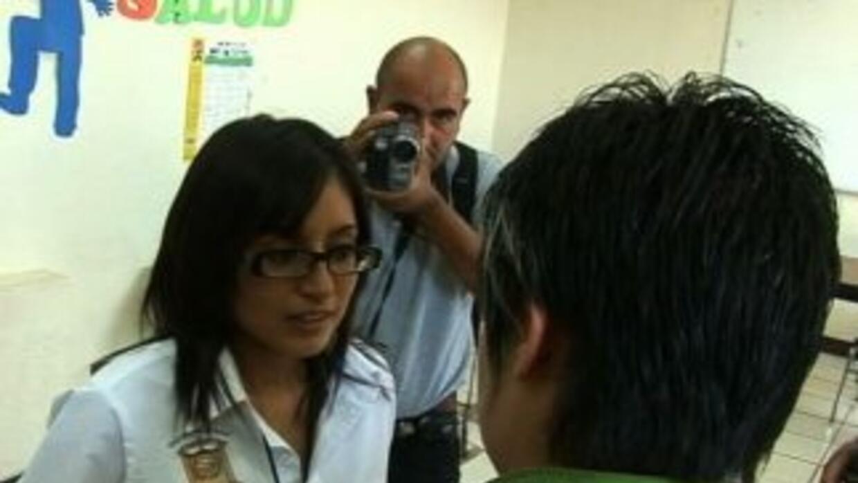 Marisol Valles una joven con un difícil trabajo.