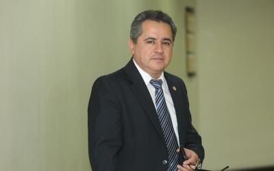 El exministro Pavel Vinicio Centeno, en una imagen de archivo.